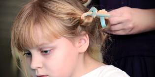 Pettinature Prima Comunione per capelli corti