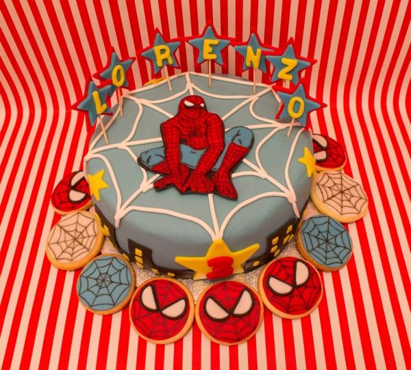 torte di compleanno degli avengers_Spiderman