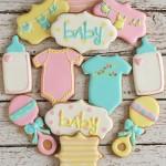 Biscotti decorati battesimo bambina