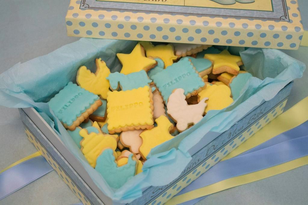 Biscotti decorati battesimo bambina_bomboniera