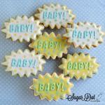 Biscotti decorati battesimo bambino