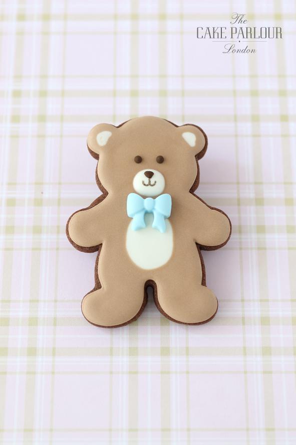 Biscotti decorati battesimo bambino_orsetto