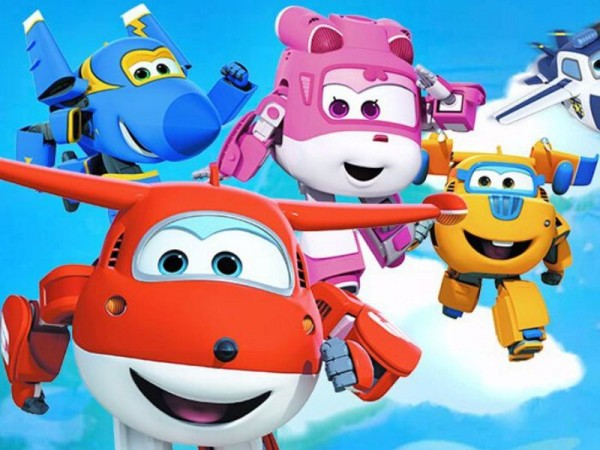 Disegni da colorare dei Super Wings