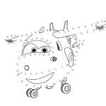 Disegni da colorare dei Super wings_Jett gioco