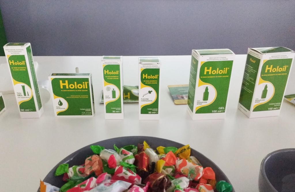 Holoil medicazione avanzata multifunzionale
