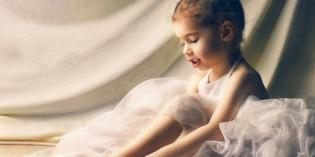 Pettinature raccolte per saggio di danza e ginnastica artistica