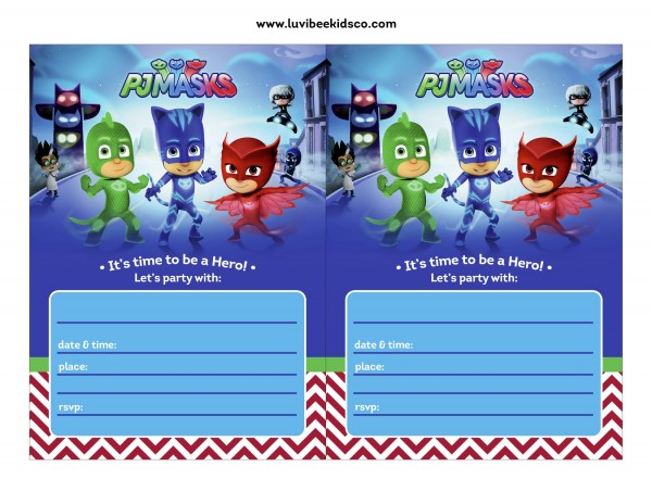Come Organizzare Una Festa A Tema PJ Masks : Blogmamma.it