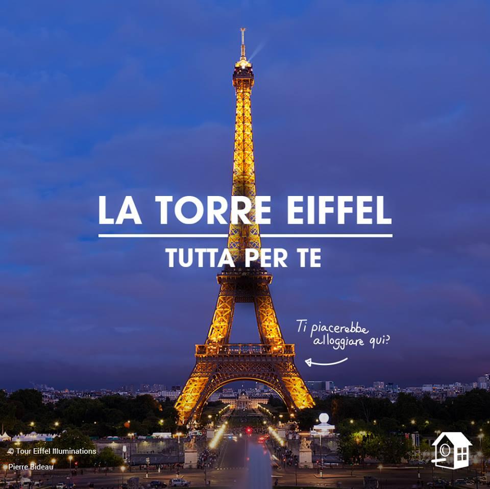 Tour Eiffel concorso HomeAway