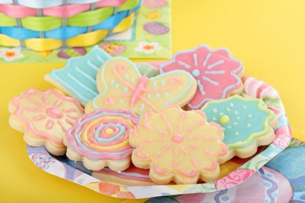 biscotti decorati per regalini fiine festa