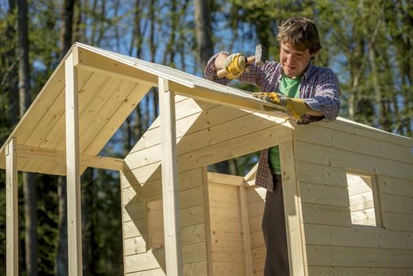 Casette da giardino fai da te come costruirle - Costruire casette in legno fai da te ...