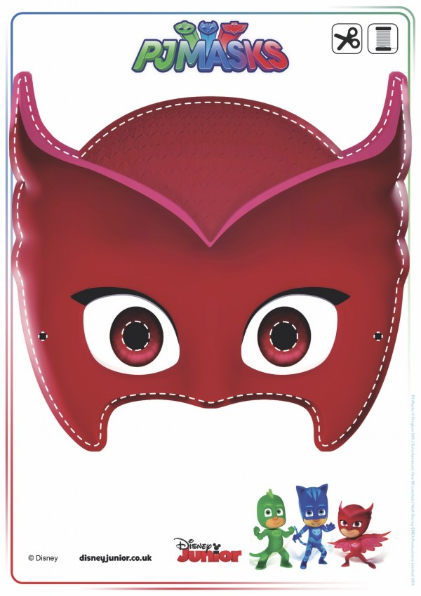 Come organizzare una festa a tema pj masks for Super pigiamini da colorare e stampare