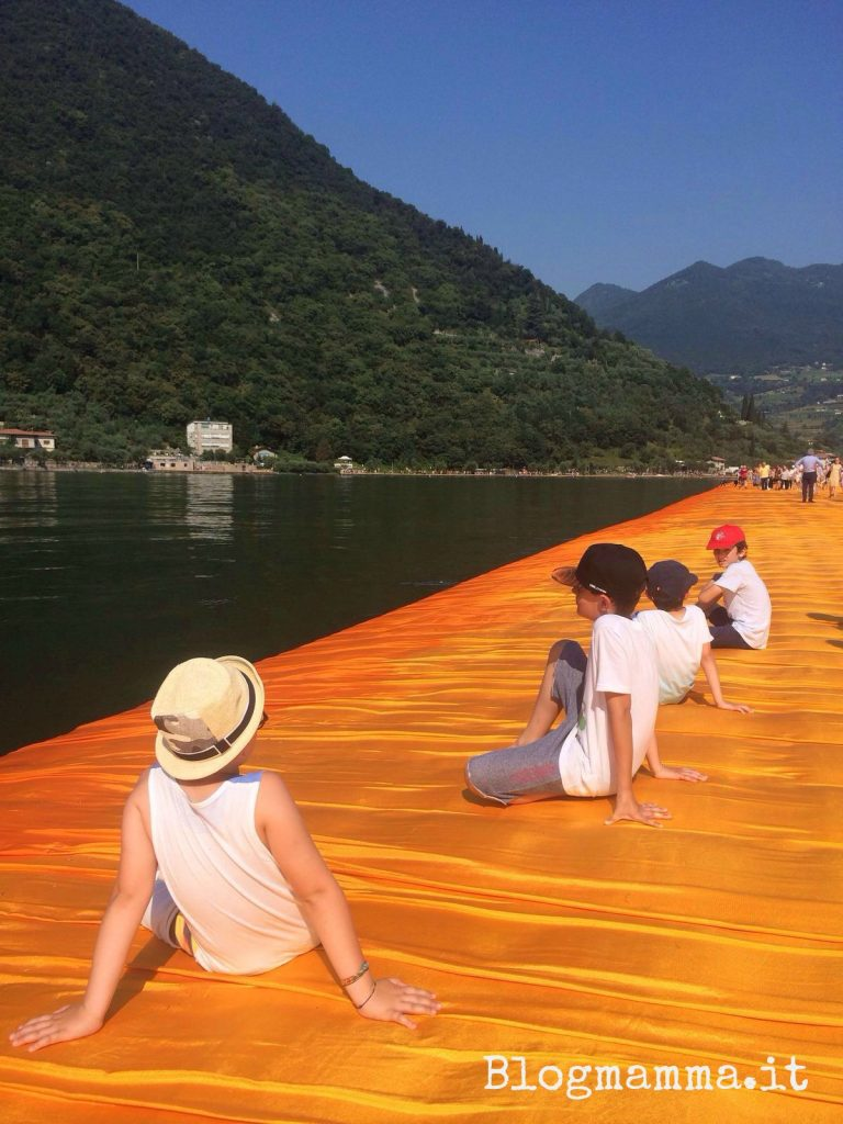 the floating piers bambini
