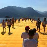 The Floating Piers con i bambini: si può fare?
