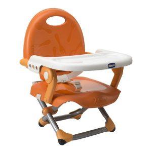 10 cose da portare in vacanza con i bambini_rialzo sedia chicco pocket