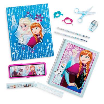 Accessori scuola di Frozen _ set di cancelleria Elsa