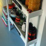 Come riciclare un fasciatoio per neonati_mobile porta oggetti