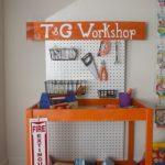 Come riciclare un fasciatoio per neonati_piano di lavoro giocattolo