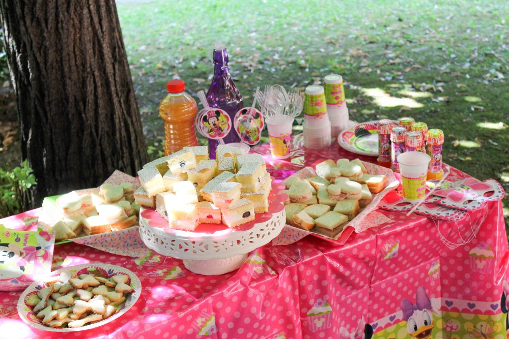 festa d'estate Disney Junior_buffet