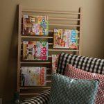 come riutilizzare un lettino da bambini_porta riviste