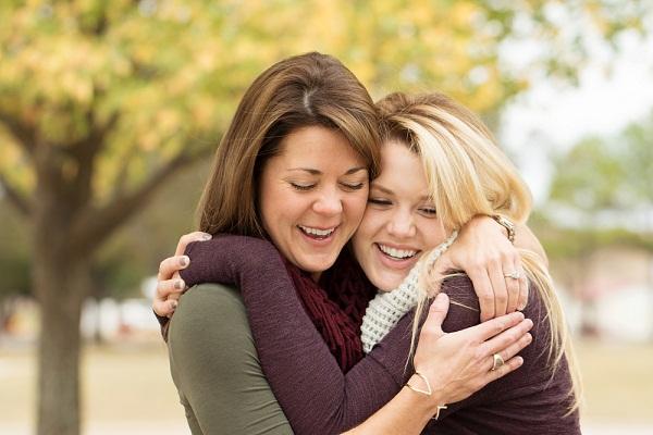 madre e figlia adolescente