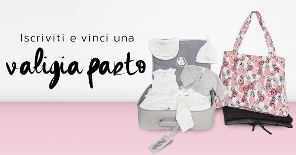 concorso vinci valigia per il parto