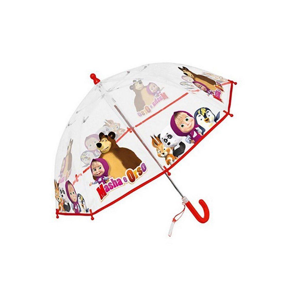 abbigliamento pioggia bambini_ombrello-bambino-masha-e-orso