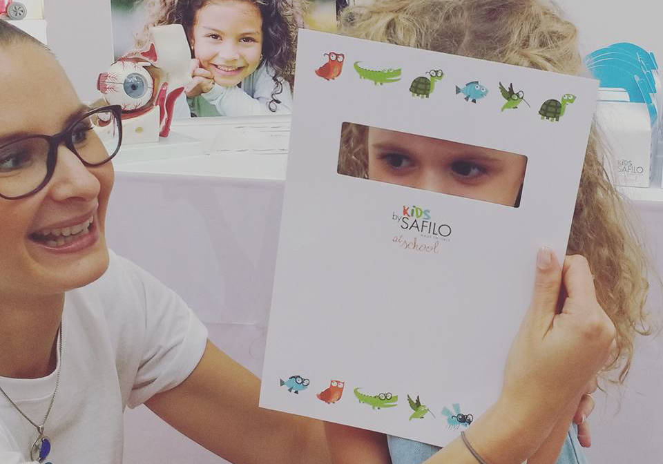kids by safilo at school_copertina