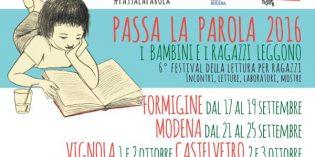 Idee weekend: Passa la Parola il festival della lettura per ragazzi a Modena