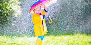 Back to school: abbigliamento pioggia bambini