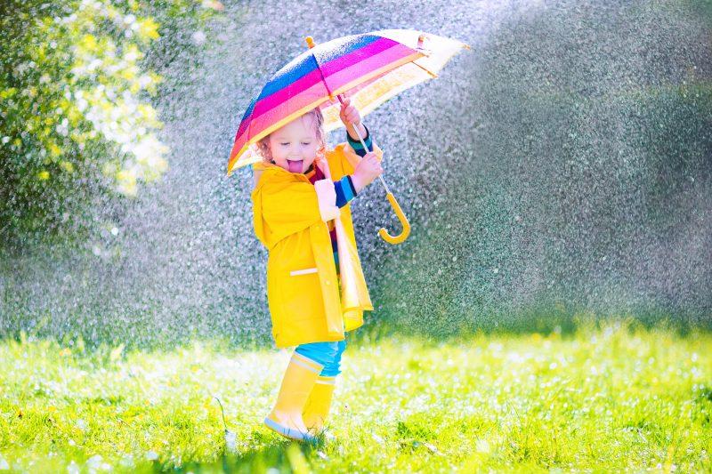 abbigliamento pioggia bambini