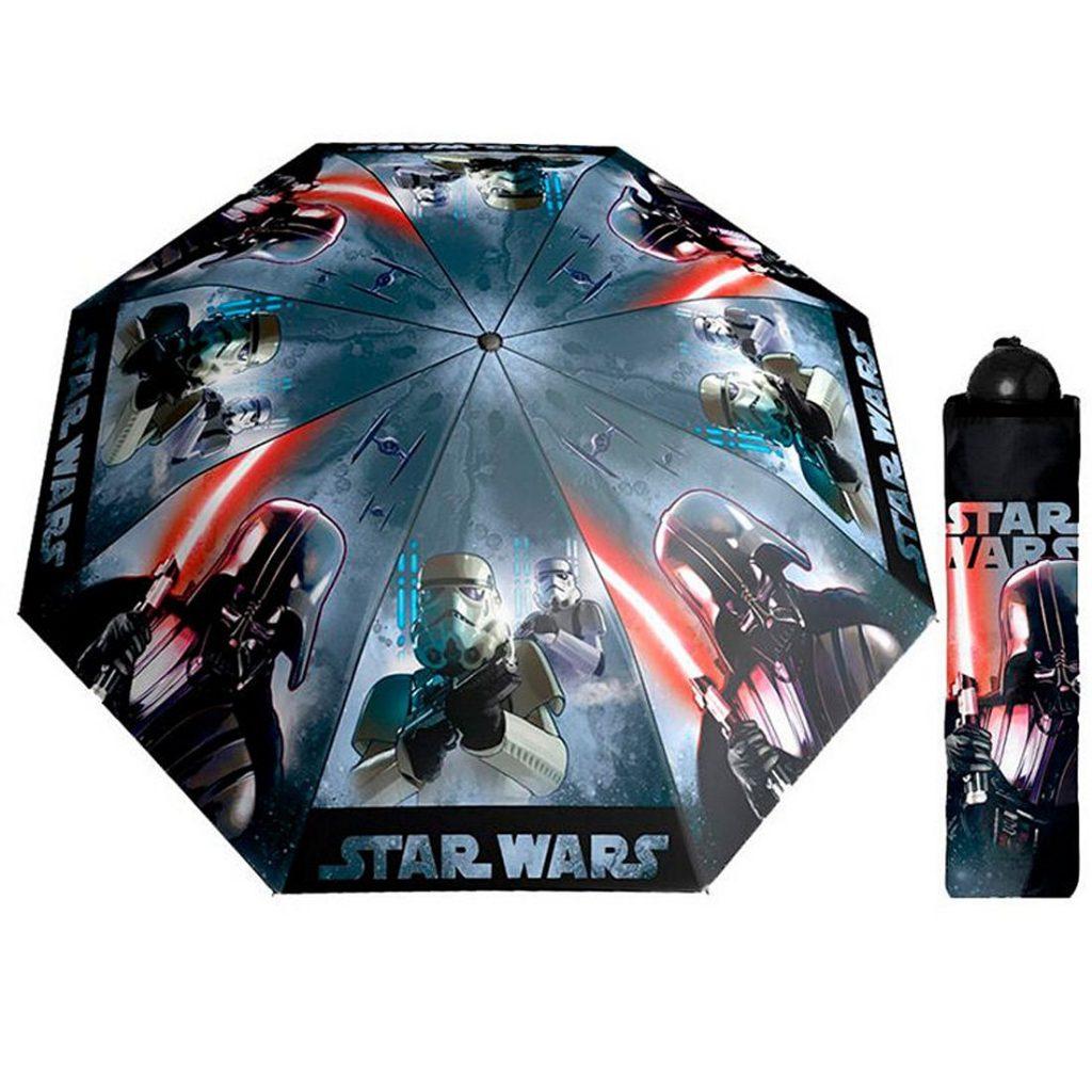 abbigliamento pioggia bambini_ombrello-star-wars
