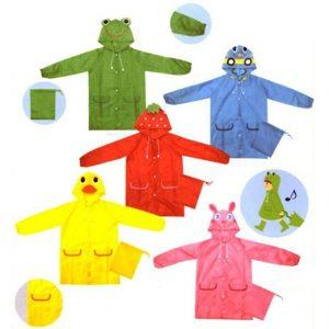 abbigliamento pioggia bambini_mantelle-bambini-animali