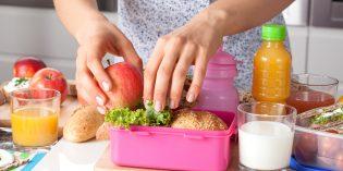 3 ricette facili per il pranzo a scuola dei bambini