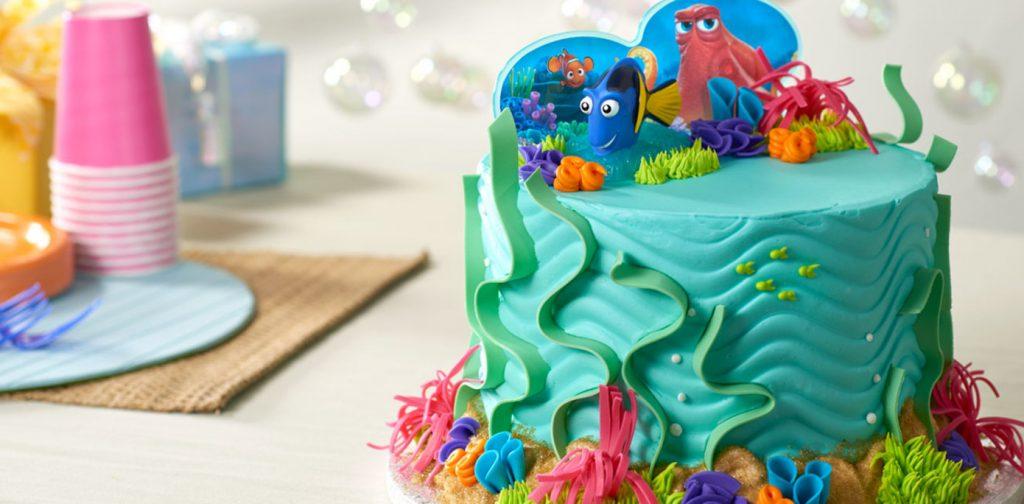 Torte Di Compleanno Di Dory E Nemo Crema Al Burro