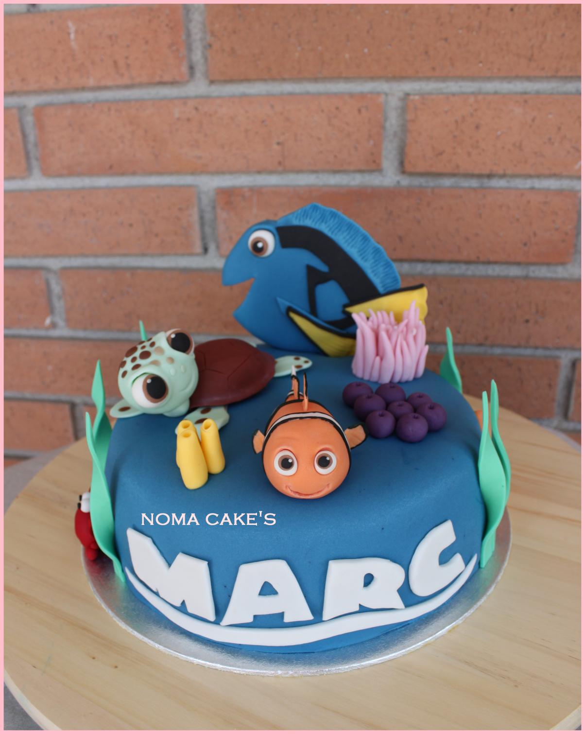 Eccezionale Torte di compleanno di Dory e Nemo: tutorial : Blogmamma.it FJ63