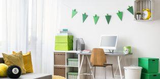 Come arredare una zona studio per la cameretta dei bambini