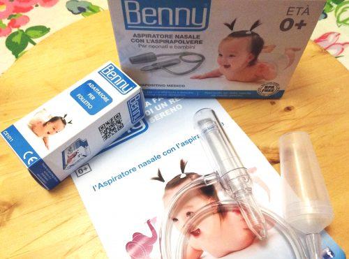 aspiratore nasale Benny