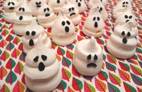 come fare i fantasmini dolci di Halloween