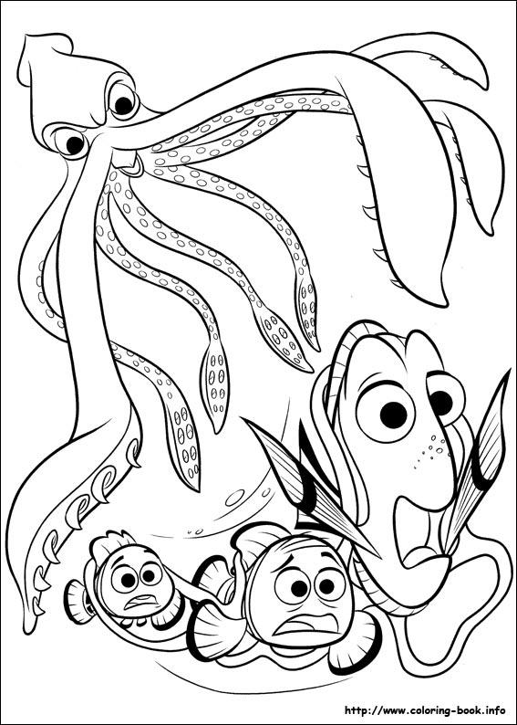 Disegni Da Colorare Dory E Nemo Fuga Blogmamma It