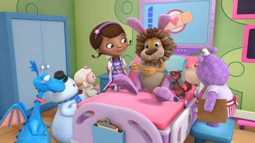 Disney junior la dottoressa peluche e il magico mondo di
