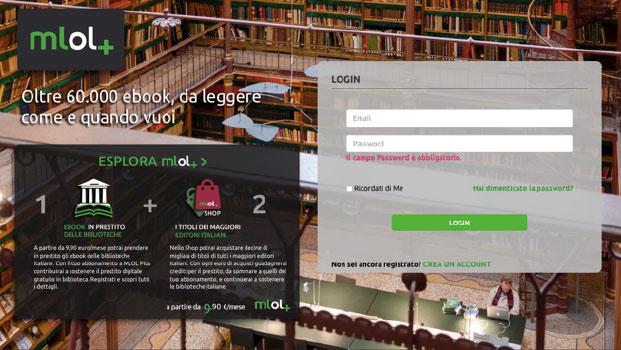 Mlol Plus prestito ebook biblioteche