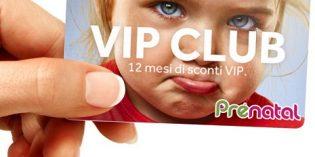 Prénatal Vip Club: sconto del 30% per un anno su abbigliamento e tessile