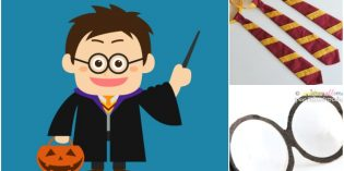 Costume di Harry Potter fai da te per Halloween e Carnevale