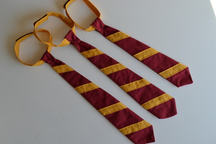 costume di harry potter fai da te cravatta