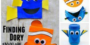 Dory e Nemo, lavoretti ispirati al nuovo film