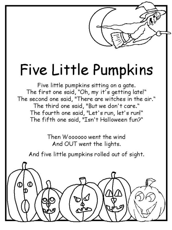 Filastrocche di halloween in inglese e in italiano da - Shamrock foglio da colorare ...