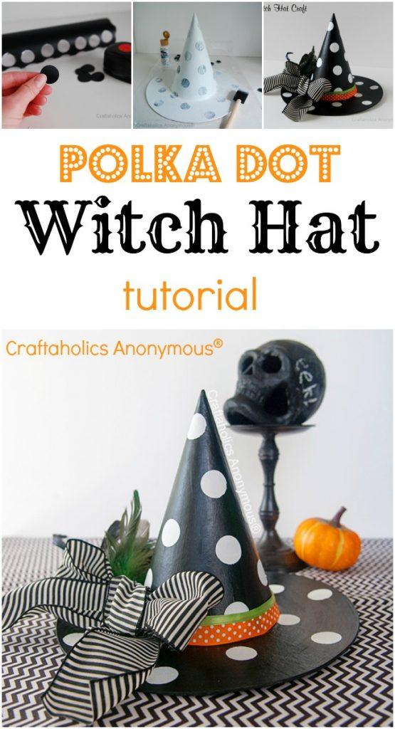 halloween_come-fare-un-cappello-da-strega-a-pois