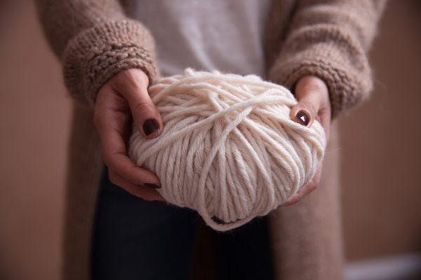 lana di filato grosso per infinity scarf uncinetto