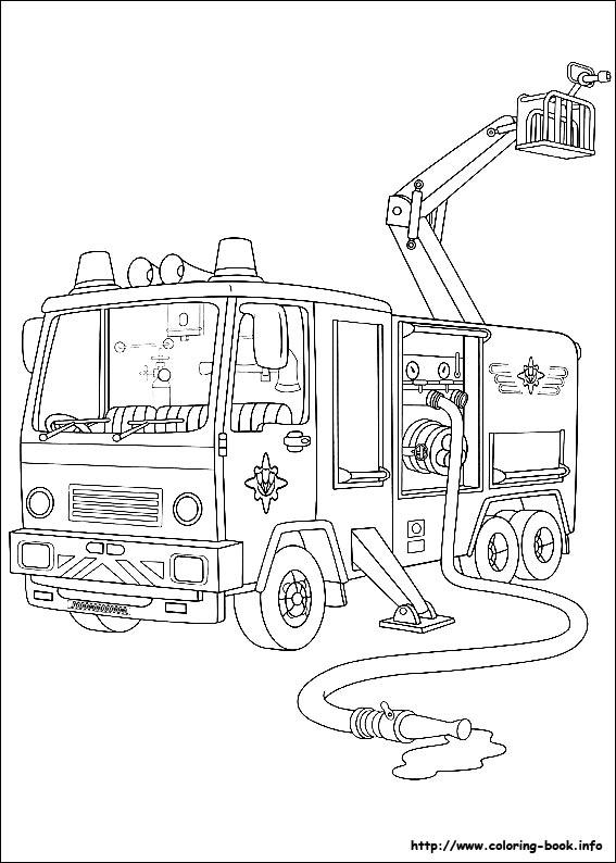 Pompiere Sam Da Colorare.Disegni Da Colorare Di Sam Il Pompiere Camion Pompiere Blogmamma It