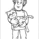 disegni-da-colorare-di-sam-il-pompiere_sam-con-un-gatto